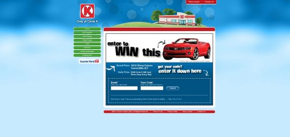 Circle K/Fountain Summer Sweepstakes