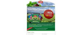 Your Salad Story Sweepstakes