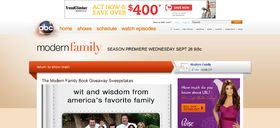 Modern Family Book Giveaway Sweepstakes