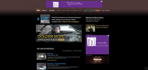 amctv.com/storynotes –  AMC's Golden Note Sweepstakes