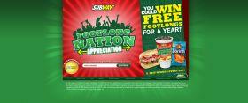 SUBWAY Footlong Nation Appreciation Games