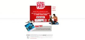 For the Love of All Pets 2012 Sweepstakes