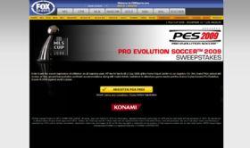 Konami Pro Evolution Soccer 2009 Sweepstakes