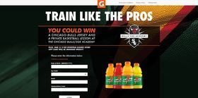 Gatorade Be Like Mike Sweepstakes at Jewel-Osco (GoTrainLikeThePros.com)