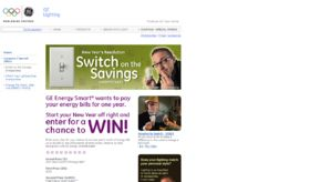 GE Switch on the Savings Sweepstakes