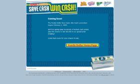 Family Dollar Save Cash, Win Cash!