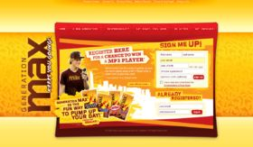 2008 Generation Max Weekly Online Sweepstakes