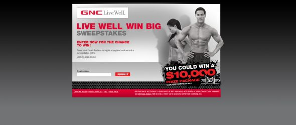 Live Well Win Big Sweepstakes