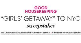Good Housekeeping NYC Beauty Girls Getaway Sweepstakes (GoodHousekeeping.com/NYCBeauty)