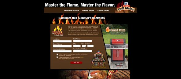 McCormick Grill Mates Master the Flavor Giveaway