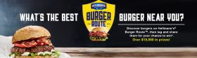 Hellmann's Burger Route Sweepstakes 2016: Over $15,00 In Prizes!