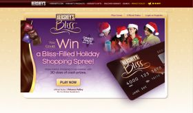 Hershey's Bliss – Holiday Shopping Spree Game