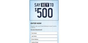 Hollister Co. Back to School 2015 Instant Win Game: Say Hey To $500