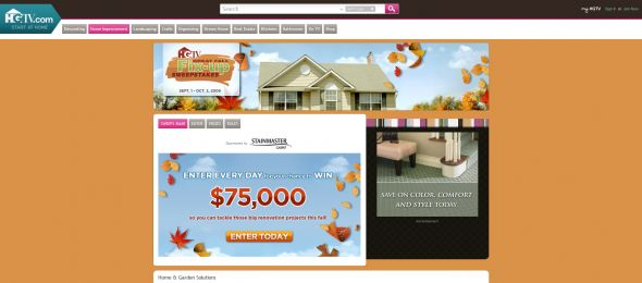 HGTV Great Fall Fix-Up Sweepstakes
