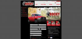 Rocky We're With You Sweepstakes
