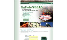 The Irish Springs Luck of the Irish Las Vegas Sweepstakes