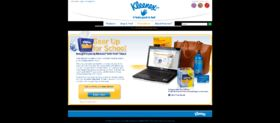 Kleenex Tissue Gear Up For School Sweepstakes