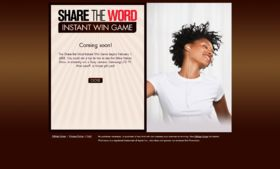 Kmart Share the Word Instant Win Game