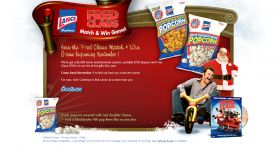 Fred Claus Match & Win Game