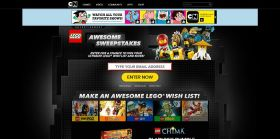 CartoonNetwork.com/LegoSweepstakes – LEGO Awesome Sweepstakes