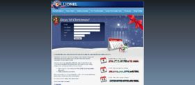 Lionel 25 Days of Christmas Sweepstakes