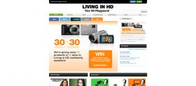 Living in HD 30 x 30 Sweepstakes