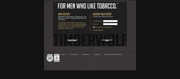 TimberWolfSnuff.com Timber Wolf Year of Tobacco Sweepstakes
