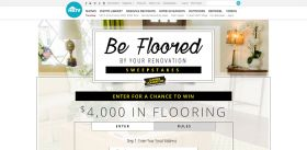 HGTV.com/BeFlooredSweepstakes: HGTV Be Floored By Your Renovation Sweepstakes