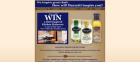 T. Marzetti Company Chef Inspired Recipe Contest