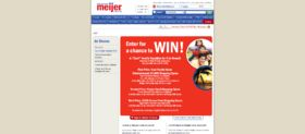 2009 Cool Food for Kids Meijer Frozen Food Month Contest Game
