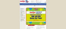 Meijer Bonus Box Tops Sweepstakes