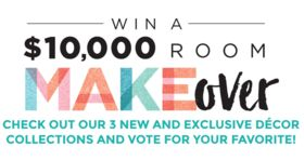 Michael's Room Makeover Sweepstakes 2017 (Michaels.com/Makeover)