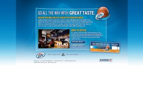 Miller Lite Vegas VIP Weekend Sweepstakes Promotion