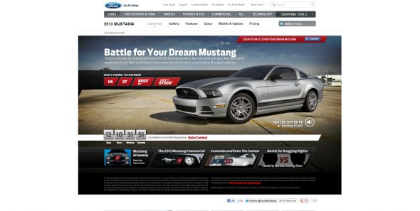 Battle For Your Dream Mustang Sweepstakes