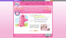 My Little Pony 25th Birthday Party Sweepstakes