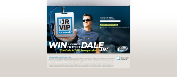 VIP Dale Jr. Sweepstakes