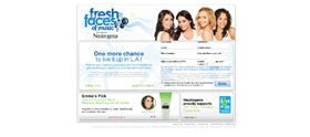 Neutrogena Fresh Faces Sweepstakes