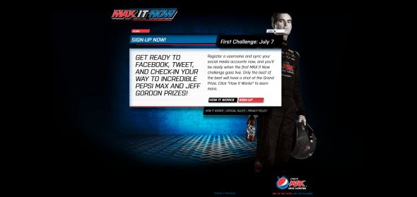pepsimax.com/now – Pepsi MAX It Now Promotion
