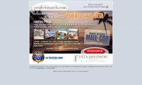 PerfectMatch.com's Win A Trip To Puerto Vallarta Sweepstakes