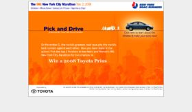 Pick and Drive Promotion