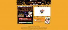 Pizza Hut and Fight Night Round 4 Promotion