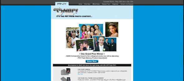Oh, Snap! It's the PNY Prom Photo Contest