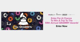 Radio.com GRAMMYs Sweepstakes: Attend the 59th GRAMMYs!