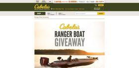 Cabela's Ranger Boat Giveaway: Win a Ranger Z520C Bass Boat