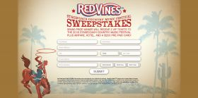RED VINES Stagecoach 2016 Country Music Festival Sweepstakes