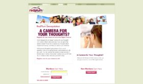 RedPlum A Camera For Your Thoughts Sweepstakes