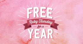 Ruby Tuesday Valentine's Day Sweepstakes 2017