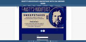 fyi.tv/rustysweeps – Rusty's Rock Feast Sweepstakes