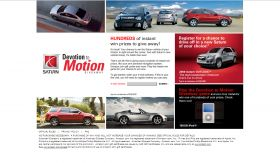 Saturn Devotion to Motion Giveaway