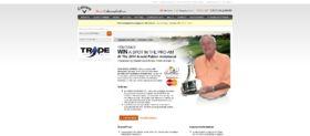 Shop.CallawayGolf.com Sweepstakes